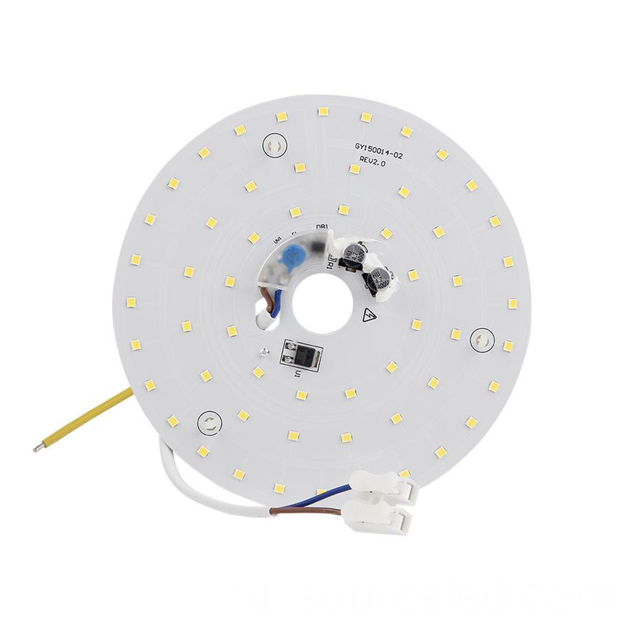 Led light pcb board 15W warm coloured led light