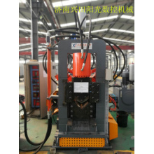 Poinçonneuse de trou hydraulique CNC en acier angulaire