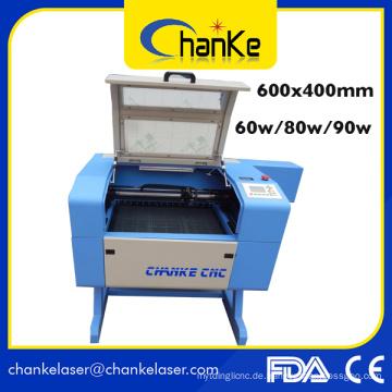 600X400mm 60W Papierschneide-Graviermaschine mit CNC-Laser