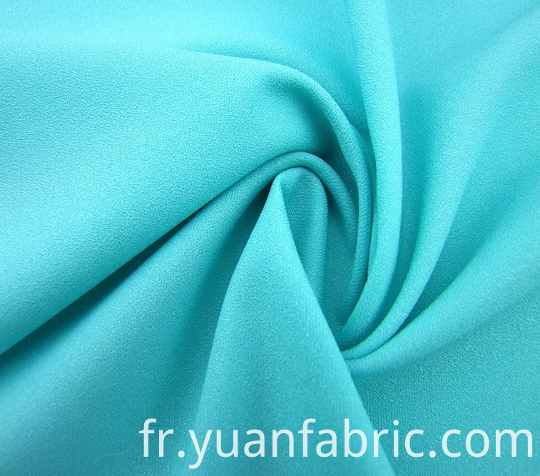 155wholesale Woven Plain Dyed Blue Shiny Stretch Fabric For Garment