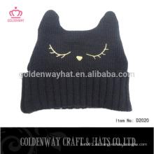 Sombrero de la gorrita tejida del pom del knit del sombrero de la gorrita tejida del diseño del sombrero