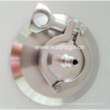 Válvula de retenção sanitária em aço inoxidável