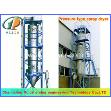 Potassium hydrogen carbonate spray drying tower