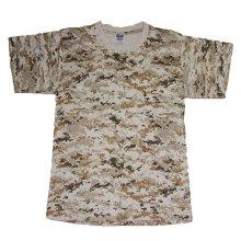 Militärkampf-T-Shirt in hochwertiger Baumwolle