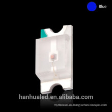 Tri-color 1206 SMD LED, 1206 RGB SMD LED, alto lumen 1206 LED