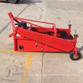 Cosechadora de patatas de alta eficiencia para tractor de ruedas