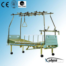 Three Cranks Mechanical Hospital Orthopedics Bed, Traction Bed (E-1)
