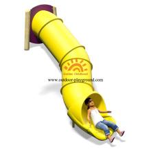 Tobogán de tubo de plástico al aire libre para parque de atracciones