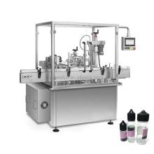 pharmaceutical 10-100ml alcohol liquid filling capping machine equipment