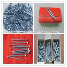 Hot sale steel concrete nails/standard concrete nails china supplier
