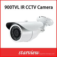 900tvl CMOS Varifocal impermeable IR cámara de seguridad CCTV (W16)