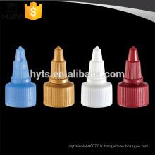 Bouchon de bouche pointu en plastique 20/410