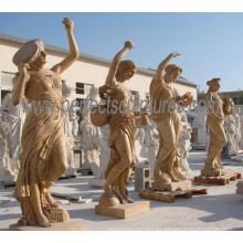 Резьба скульптуры Статуя мраморного камня для украшения сада (SY-X1317)