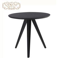 Projeto de moda redondo de madeira da mesa de jantar da mobília por atacado do restaurante