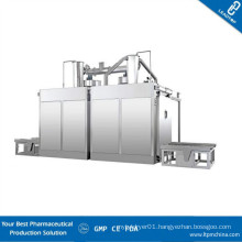High Efficiency Pharmaceutical Automatic Drum Washing Station with Two Cavities