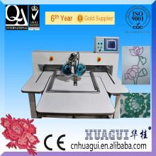 HUAGUI venta caliente cristal fix máquina de bordado computarizado