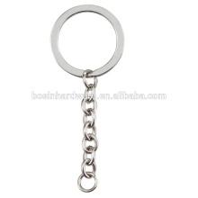 Модное кольцо металла высокого качества металла плоское с цепью обуздания