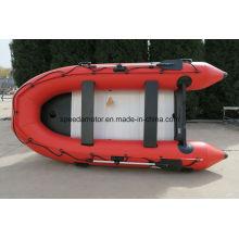 Barco de pesca inflable del PVC