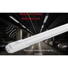 Tubo LED de 1200 mm 18W com sensor de microondas integrado