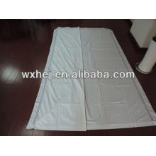 bordado hotel de algodão de alta qualidade cama queen size colcha