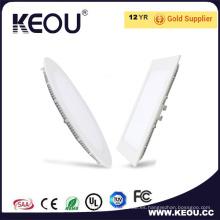 Tamaño del agujero 90 mm RoHS Ce ISO Ultra Slim 4W 6W Panel Light
