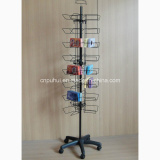 3 Sides Metal Spinning Wire Display (PHY2030)