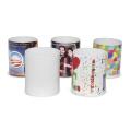 Grade Eine Porzellan Keramik weiße Kaffeetasse für die Sublimation