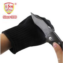 Gants résistants à la perforation et à la perforation en nylon noir
