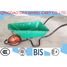 Metal Tray Material and Solid/air Wheel Wheel Type plastic tray wheelbarrow WB3800