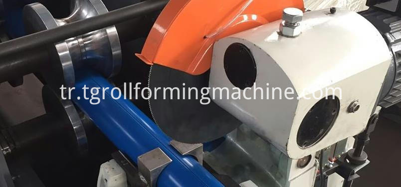 Round Downspout Machine