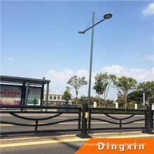 Manufacturer Q235 11m High Steel Street Lighting Pole