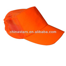 high visibility orange safety cap