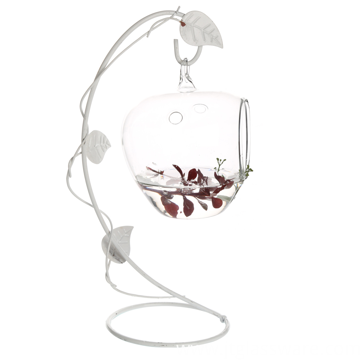 Hanging Glass Apple Shape Orb for all green plants (11)