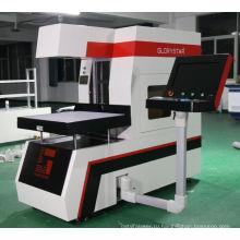 Лазерная маркировочная машина с динамическим фокусным расстоянием для материалов для джинсов
