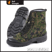 PU Injection Safety Shoe with Camo Color Fabric (SN5261)