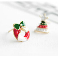 Bijoux de Noël / Boucle d'oreille de Noël / Cloche de Noël (XER13354)