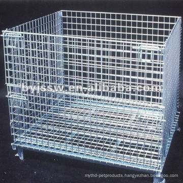 stackable wire baskets with wheels