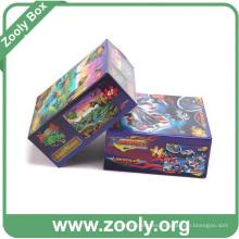Caja de embalaje de cartón ondulado de impresión 3D