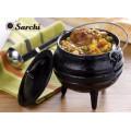 Ustensiles de cuisine en fonte pot sud-africain / four hollandais