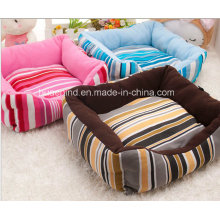 Quadrate Stripe Pet Bed for Dog or Cat