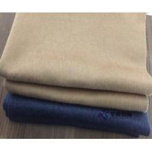 Lã de face dupla de pelúcia para jaqueta