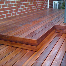 Merbau Park Corridor Wood Flooring for Outdoor