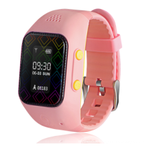 Kids Energy Efficient High Quality Bright OLED GPS Tracker Watch