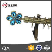 2016 modern design 28mm iron curtain rod