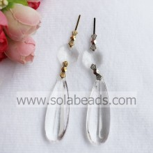 15*45MM Acrylic Crystal Hanging Drop Pendant