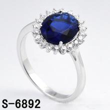 Alta qualidade moda jóias 925 anel de prata esterlina