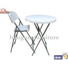 HDPE Plastic High Bar Folding Chair Wholesale
