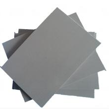 Высокий ударопрочный серый Жесткий пластиковый лист ПВХ