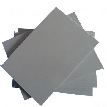 Folha plástica rígida cinzenta resistente ao alto impacto do PVC