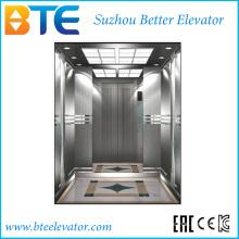Ce ascenseur à passager sans traction sans ascenseur avec petite salle de machines